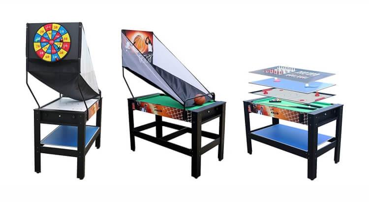 Migliori tavoli multigioco: Tavolo multigioco 7 in 1 con basket incluso di Solex