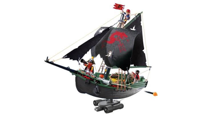 Migliori barche radiocomandate:Il Veliero dei Pirati RC di Playmobil