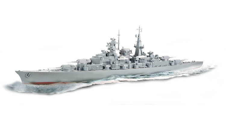 Migliori barche radiocomandate:Nave da battaglia Bismarck di Torro
