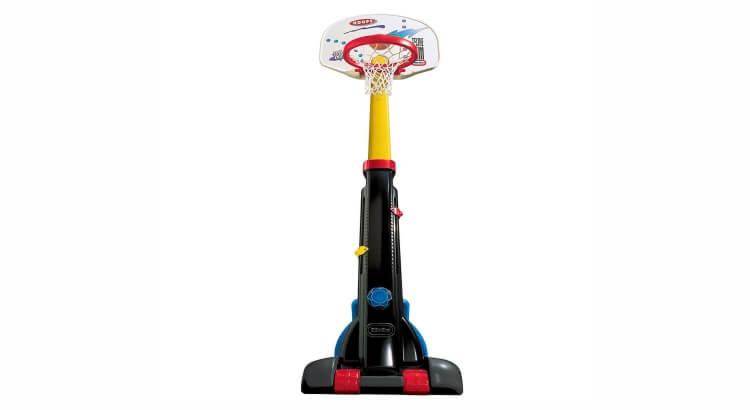 Miglior canestri da basket per bambini:Pallacanestro regolabile di Little Tikes