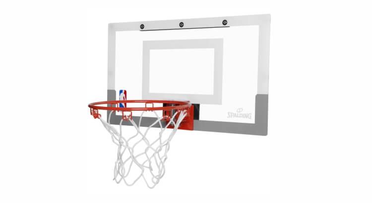 Miglior canestri da basket per bambini:Mini canestro NBA Slam Jam Board di Spalding