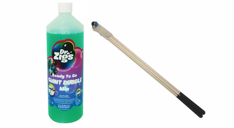 Migliori giochi delle bolle giganti:Set Giant Bubble Mix di Dr Zigs