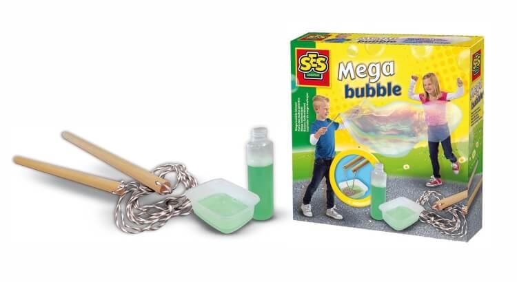 Migliori giochi delle bolle giganti:Kit Mega Bubble di SES Creative