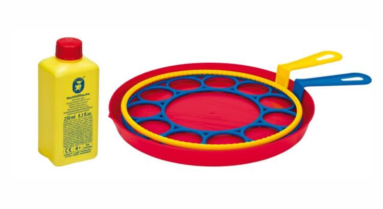 Migliori giochi delle bolle giganti:Kit Multi-Bubbler di Pustefix