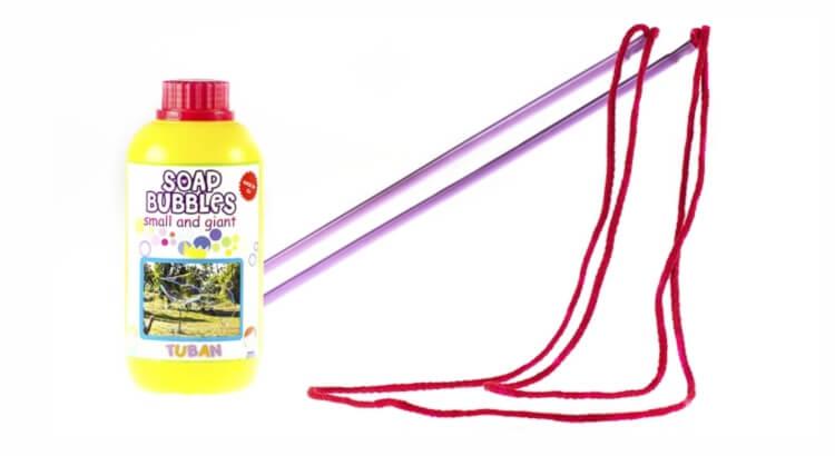 Migliori giochi delle bolle giganti:Kit per bolle di sapone giganti di Play Juggling