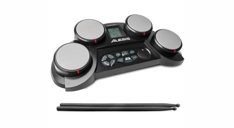 Strumenti musicali per bambini:Batteria elettronica portatile Compact Kit 4 di Alesis