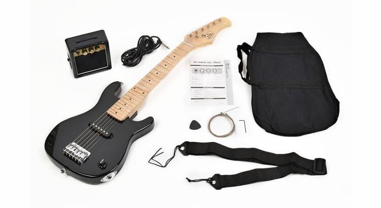 Strumenti musicali per bambini:Chitarra elettrica ¼ per bambini di TS Music Fidelity