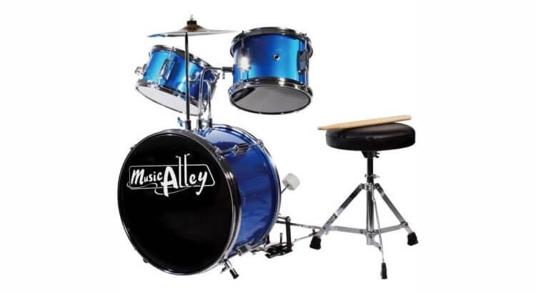 Strumenti musicali per bambini:Kit batteria per bambini di Music Alley