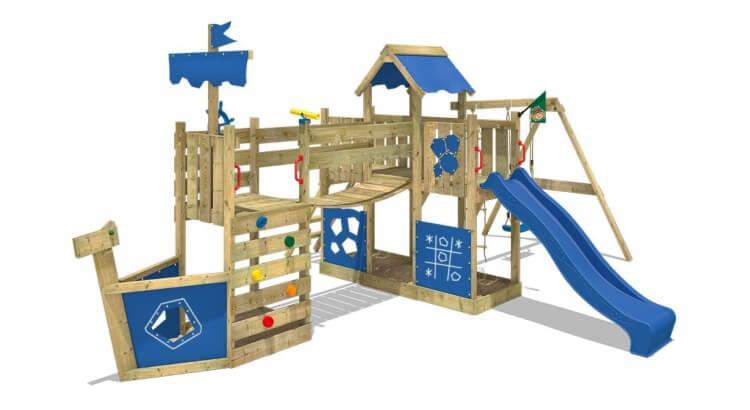 Miglior parco giochi in legno:Parco giochi ArcticFlyer di Wickey