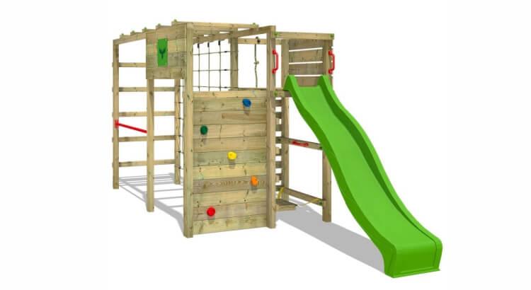 Miglior parco giochi in legno:Parco giochi FitFrame Fresh XXL di Fatmoose