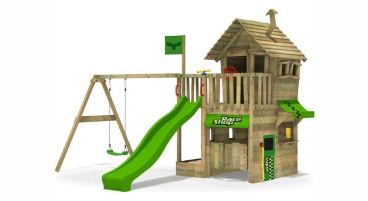 Miglior parco giochi in legno:Parco giochi RebelRacer Super XXL di Fatmoose