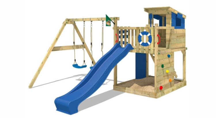 Miglior parco giochi in legno:Parco giochi Smart Camp di Wickey
