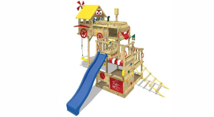 Miglior parco giochi in legno:Parco giochi Smart Express di Wickey