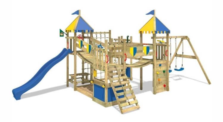 Miglior parco giochi in legno:Parco giochi Smart King di Wickey