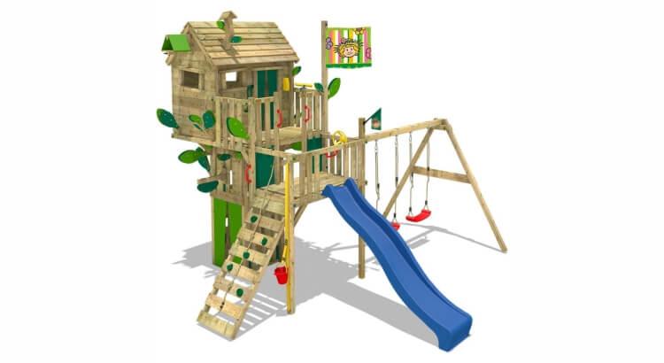 Miglior parco giochi in legno:Parco giochi Smart Treetop di Wickey