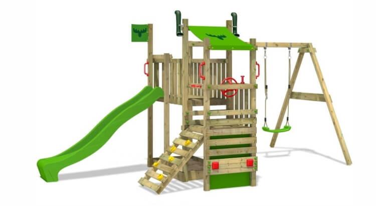 Miglior parco giochi in legno:Parco giochi TurboTruck XL di Fatmoose
