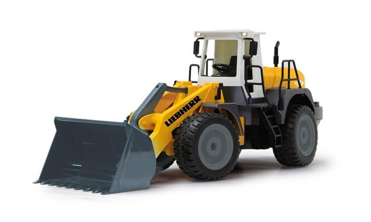 Migliori trattori elettrici per bambini:Pala Gommata Liebherr 564 di Jamara
