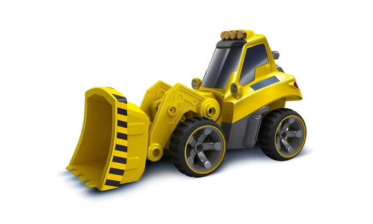 Migliori trattori elettrici per bambini:Bulldozer radiocomandato di Silverlit