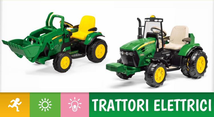 Migliori trattori elettrici