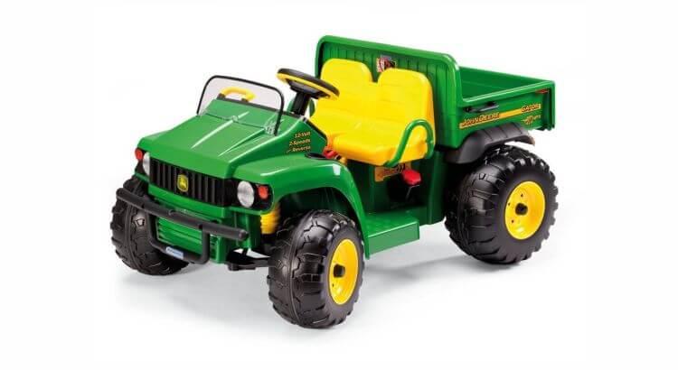 Migliori trattori elettrici per bambini:Trattore elettrico John Deere Gator HPX di Peg Perego