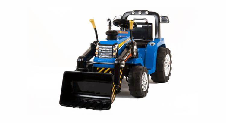 Migliori trattori elettrici per bambini:Trattore elettrico con la ruspa di Mondial Toys