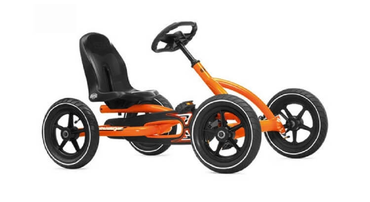 Go kart a pedali per bambini: Buddy Orange Kart di Berg