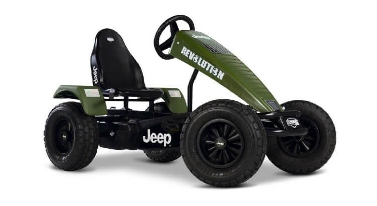 Go kart a pedali per bambini: Jeep Revolution BFR di Berg