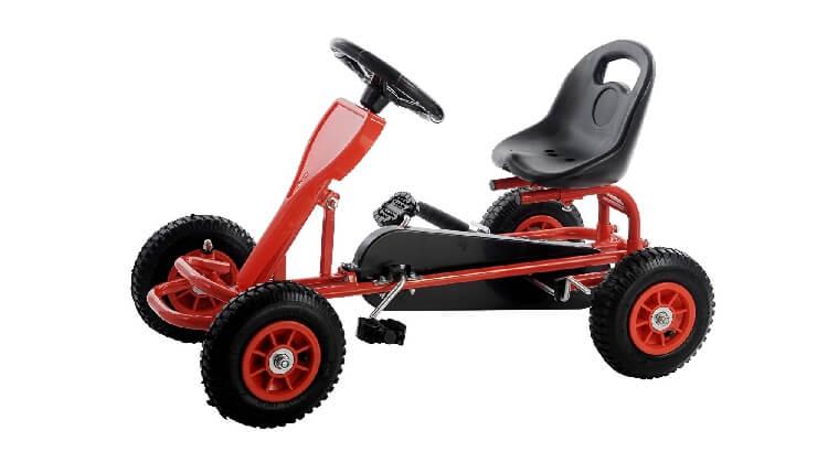 Calcio balilla da esterno: Go Kart a pedali di SixBros