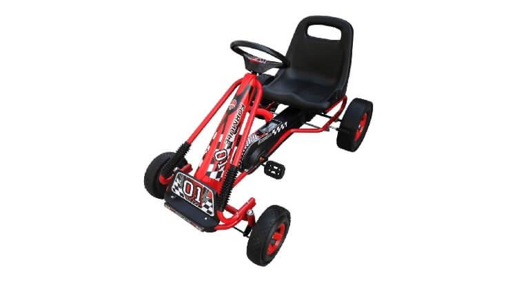 Go kart a pedali per bambini: Kart Skelter Go di Van der Meulen