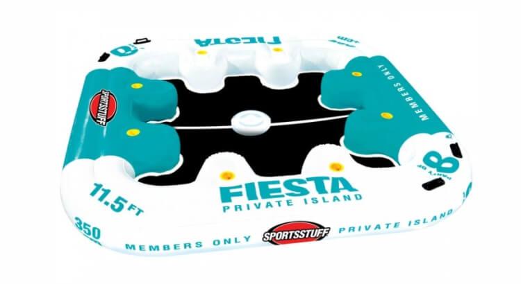 Migliori isole gonfiabili: Fiesta Island di Sportsstuff