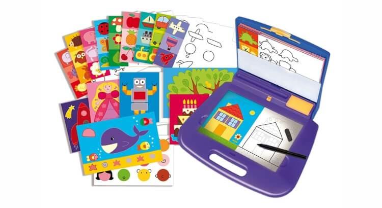 Migliori lavagne luminose per bambini:Valigetta con schermo luminoso Imparo a disegnare di Diset