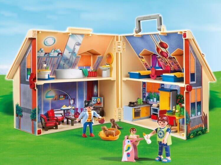 Più belli set di PLAYMOBIL del momento:Casa delle Bambole Portatile di PLAYMOBIL®