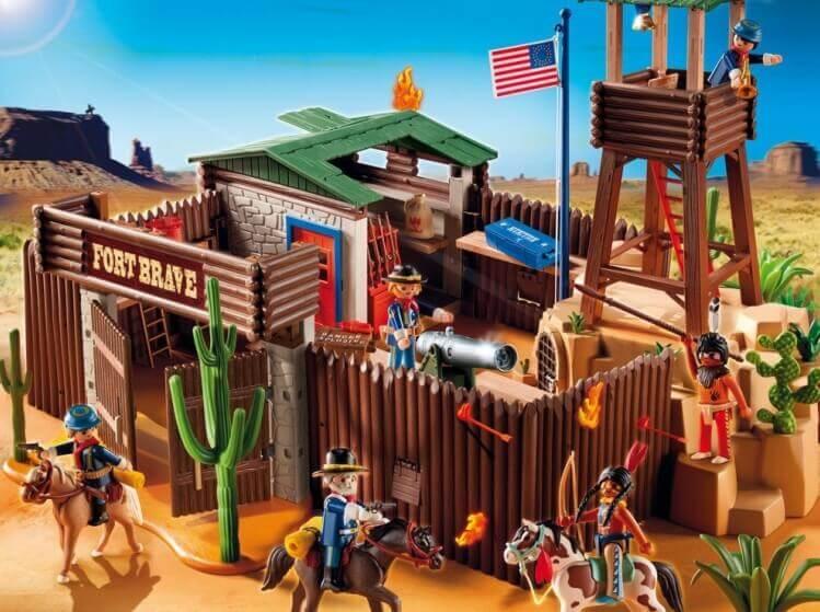 Più belli set di PLAYMOBIL del momento:Fortino Western di PLAYMOBIL® Western