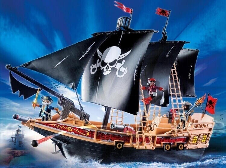 Più belli set di PLAYMOBIL del momento:Galeone dei Pirati di PLAYMOBIL® Pirates