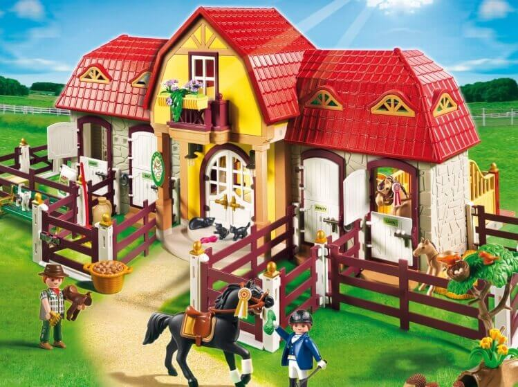 Più belli set di PLAYMOBIL del momento:Grande Maneggio con Recinto di PLAYMOBIL® Country