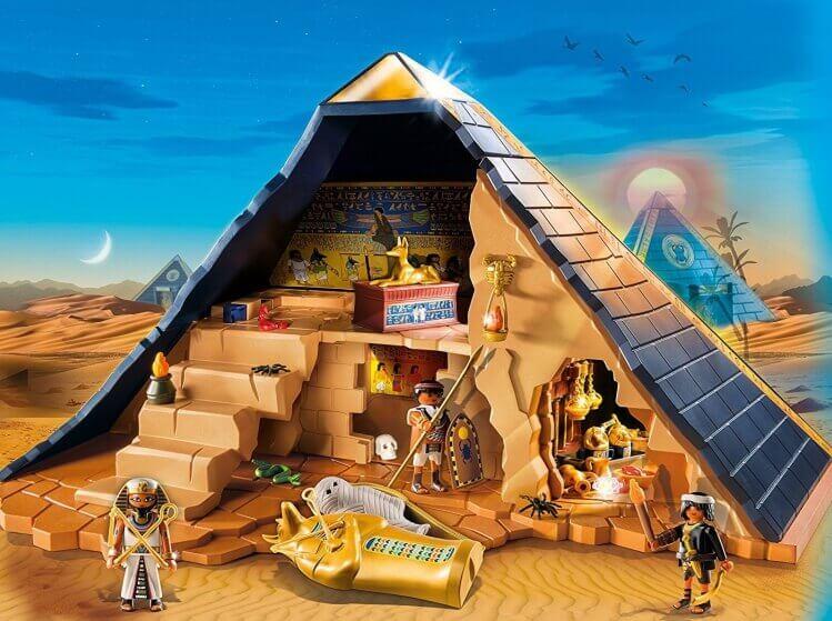 Più belli set di PLAYMOBIL del momento:Grande Piramide del Faraone di PLAYMOBIL® History