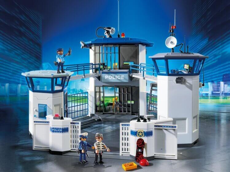 Più belli set di PLAYMOBIL del momento:Stazione della Polizia con Prigione di PLAYMOBIL® City Action