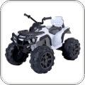 Quad 12V di Mondial Toys modello bianco