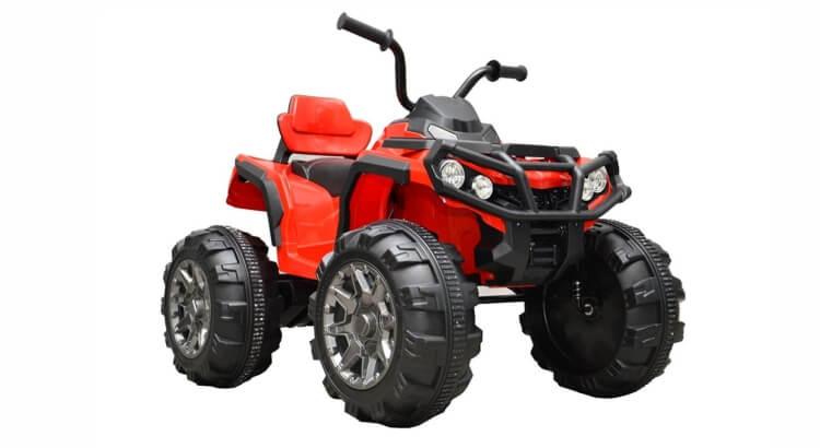 Migliori quad per bambini: Super quad elettrico con veri ammortizzatori di Mondial Toys