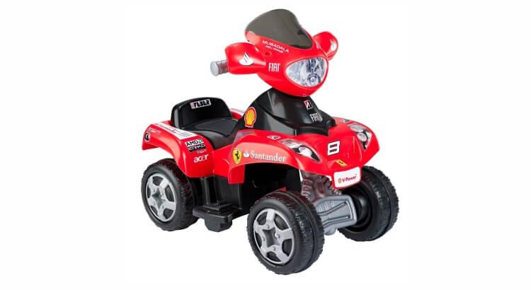 Migliori quad per bambini:Quad elettrico Ferrari di Feber