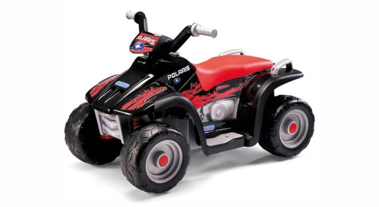 Migliori quad per bambini:Quad elettrico Polaris Sportsman 400 di Peg Perego