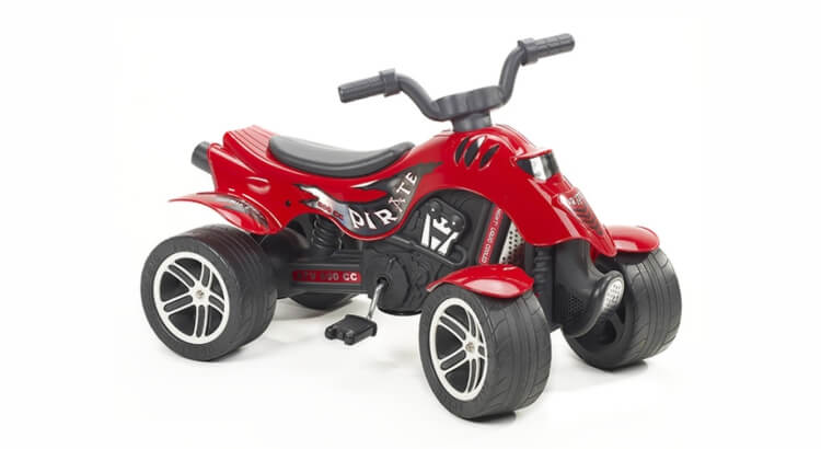 Migliori quad per bambini:Quad a pedali Pirate Red GF-600 di FALK