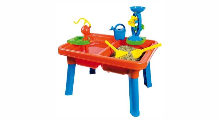 Tavoli per giocare con acqua e sabbia: Tavolo Multigioco Estivo di Androni Giocattoli
