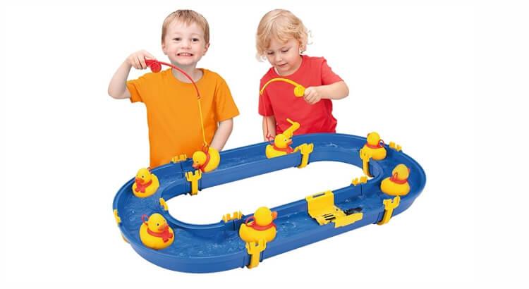 Tavoli per giocare con acqua e sabbia: Gioco Watertable Catch the Duck di BIG