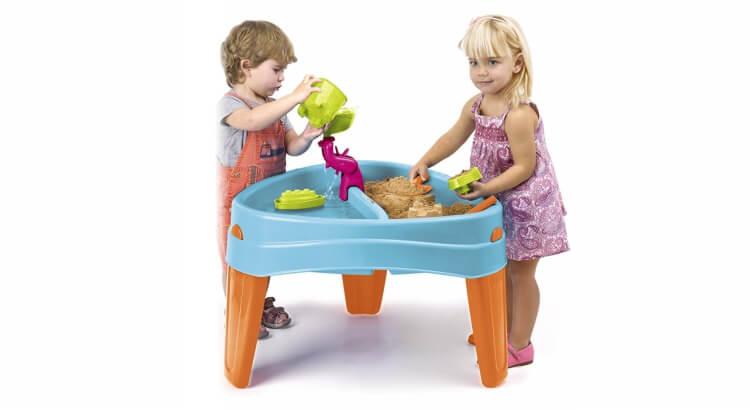 Tavoli per giocare con acqua e sabbia: Tavolo da gioco Play Island di Feber