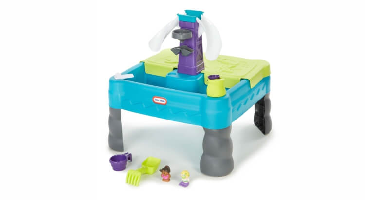 Tavoli per giocare con acqua e sabbia: Tavolo da gioco Sandy Lagoon Waterpark di Little Tikes