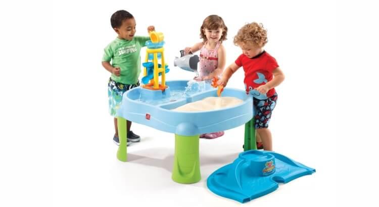 Tavoli per giocare con acqua e sabbia: Tavolo estivo Splash & Scoop Bay di Step2