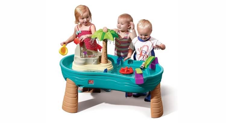 Tavoli per giocare con acqua e sabbia: Tavolo di acqua e sabbia Splish Splash Seas di Step2