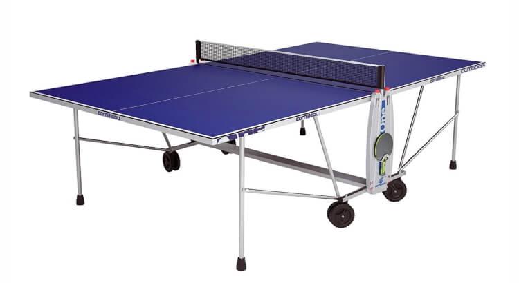 Tavoli da ping ping outdoor: Tavolo ping pong per esterno 100 S Crossover di Cornilleau