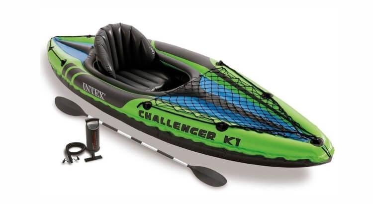 Migliori kayak e canoe gonfiabili: Canoa Challenger K1 di Intex